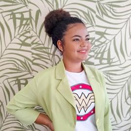 Aplique Coque Afro Ponytail, Fibra Orgânica, Cor P1B/30
