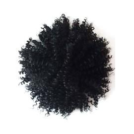 Aplique Coque Afro Puff, Fibra Orgânica, Cor 1B