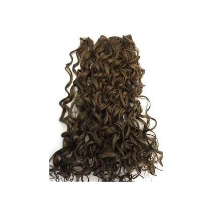 Cabelo Tecido Fibra Japonesa, Modelo Exchange Fashion Deep Wave, Cacheado, 45,7cm de Comprimento...Lindas Cores