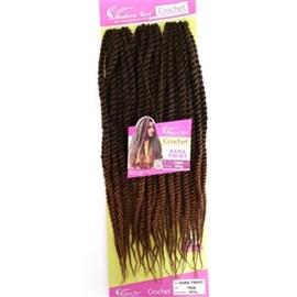 Fibra para Crochet Braid Modelo Sara Twist 60cm, Cor T1B/30