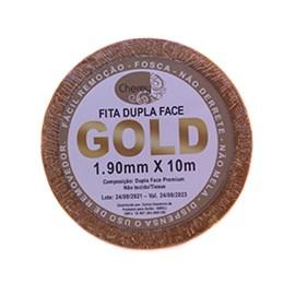 Fita Adesiva GOLD Dupla Face Rolo 10mx1,90m