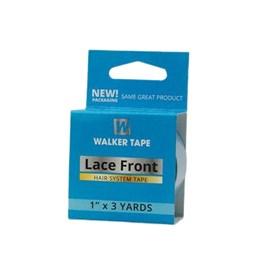 Fita Adesiva Lace Front Azul Aderência Forte 2,7m x 2,54cm