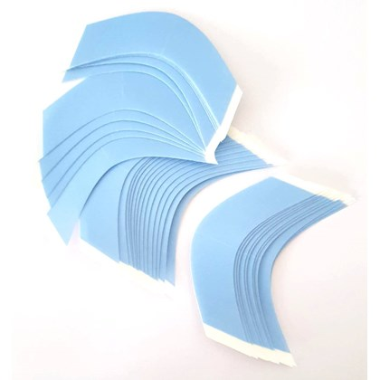 Fita Adesiva Lace Front Azul Aderência Forte Contours A - 36 Peças