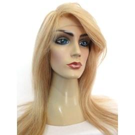 Full Lace de Cabelo Humano Peruca Modelo Venus, Implantada