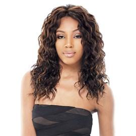 Lace Front Modelo Julia, Fibra Orgânica, Linha Fresh Hairline, Permite Modelagem, Freetress Equal