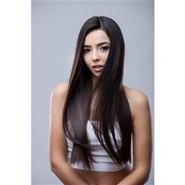 Mega Hair com Fita Adesiva de Cabelo Humano, Modelo Lhala Hair Cor 405E Tamanho: 65 cm