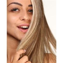 Mega Hair com Fita Adesiva de Cabelo Humano, Modelo Lhala Hair Cor M1302 Tamanho: 65 cm