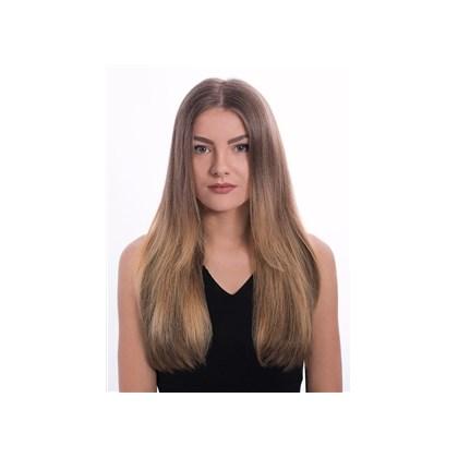 Mega Hair com Fita Adesiva de Cabelo Humano, Modelo Lhala Hair Cor M1305