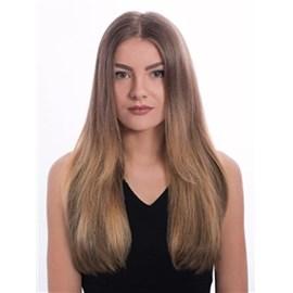 Mega Hair com Fita Adesiva de Cabelo Humano, Modelo Lhala Hair Cor M1305 Tamanho: 65 cm