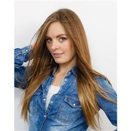 Mega Hair com Fita Adesiva de Cabelo Humano, Modelo Lhala Hair Cor M19A Tamanho: 65 cm