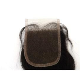Top Closure 4x4 Cabelo Humano Ondulado - 50cm - Closure Especial para Preenchimento e Acabamento do Topo, com Lace, Cabe